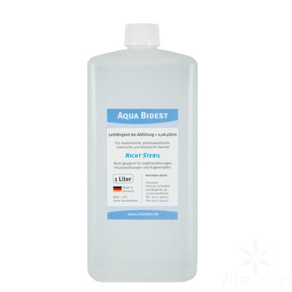 Bi-destilliertes-wasser